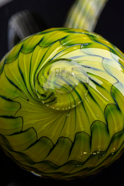 Dale Chihuly Green Persian Set Fine Glass Art Original Signed