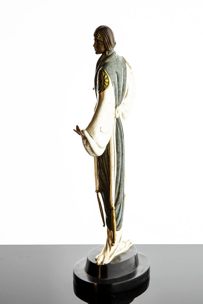 Belle de Nuit Bronze Limited Edition Bronze Sculpture Art Deco Museum Condition