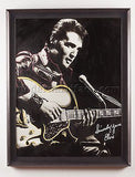Steve Kaufman Original Oil Painting of Elvis Rock Music Art Documented