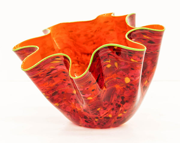 Dale Chihuly Fiesta Macchia Sold Out Portland Press Studio Edition glass art