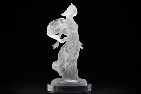 Songs of Grace: Beauty Lucite Sculpture Original Contemporary Art