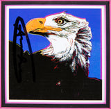 Bald Eagle Hand Signed Endangered Specie Gallery Announcement Invitation