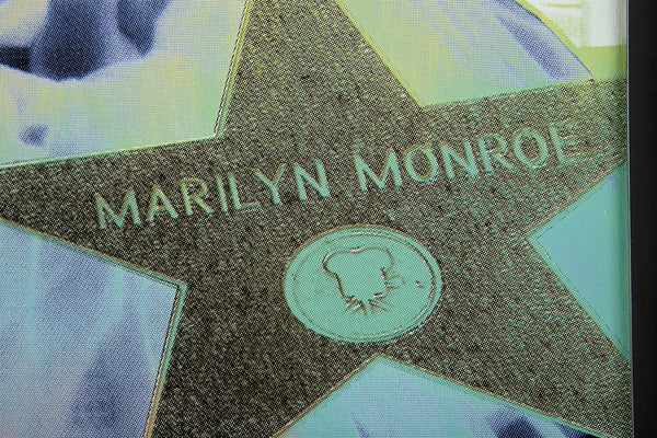 Marilyn Monroe SAK Hollywood Star Large Limited Painting Warhol