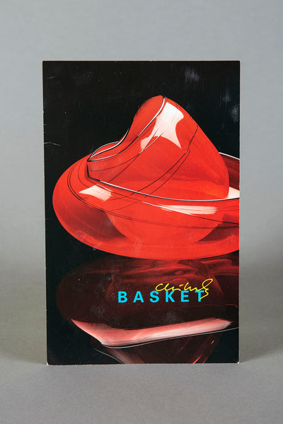 Dale Chihuly Bonfire Basket Retired Original Hand Blown Glass Sculpture Signed Dated