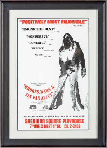 Whores, Wars & Tin Pan Alley Ltd Poster Alvin Epstein