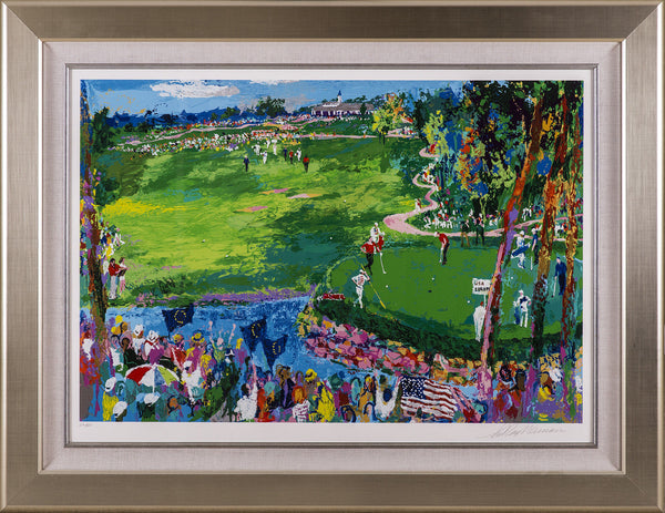 LeRoy Neiman Ryder Cup Golf Limited Edition Signed Serigraph Scotty Circle