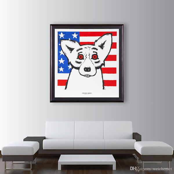 God Bless America - Sold Out Fundraising piece for 9/11 & Katrina