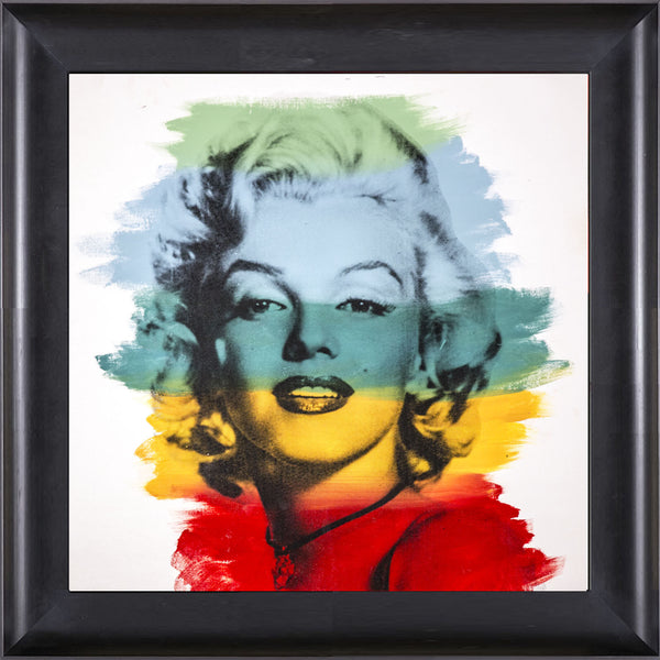 Marilyn Monroe Warhol Famous Assistant Oil Painting Canvas 25 x 30