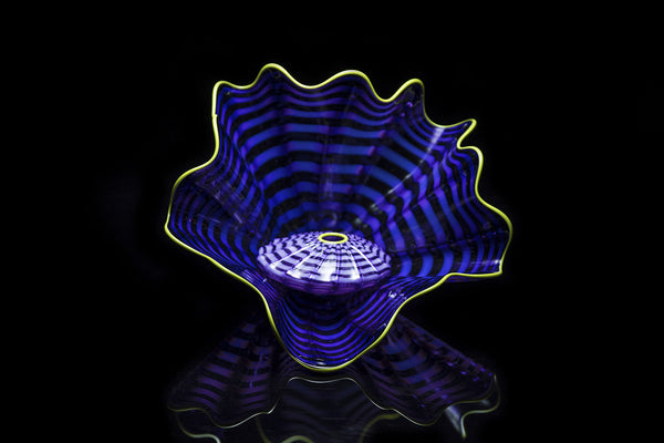 Dale Chihuly Hand Blown Imperial Iris Persian Sculpture Art Best Offer Sold Out
