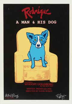"Blue Dog ""Rodigue, A Man and his Dog"" MAKE OFFER"
