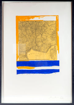 'MEDITERRANEAN (STATE II YELLOW)', 1975. Lithograph