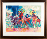 Leroy Neiman Churchill Downs Horse Racing Limited Edition Painting Serigraph
