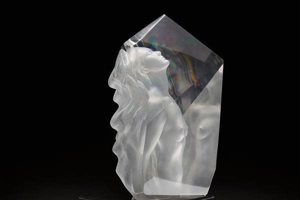 Exaltation Lucite Sculpture, Original Contemporary Art