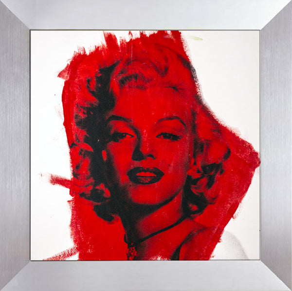 Marilyn Monroe Warhol Famous Assistant Oil Painting Canvas 26 x 27