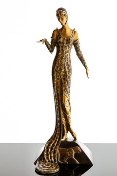 Julietta Bronze Limited Edition Bronze Sculpture Art Deco Museum Condition