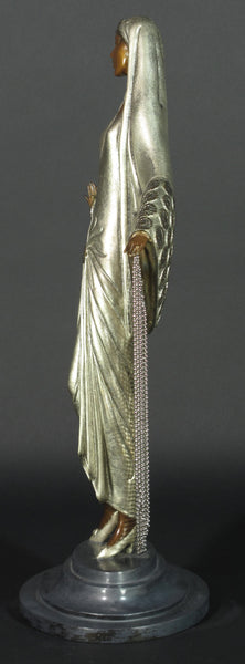 Beloved Bronze Sculpture Art Deco