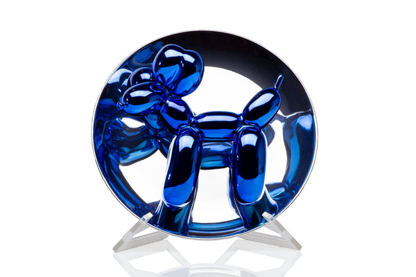 Jeff Koons Authentic Balloon Dog Limited Edition Blue Puppy - Mint Condition