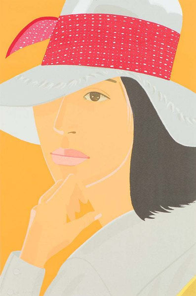 Alex Katz Red Band (M. 116) Color Screenprint Signed Contemporary Art