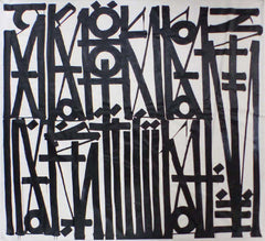 RETNA Crooked Just Like You Original Acrylic Painting Contemporary Art
