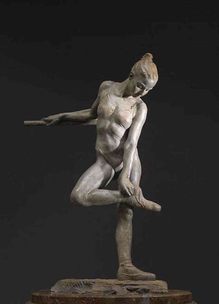 Richard MacDonald Study for the Rose Half Life Bronze Sculpture Signed Contemporary Art