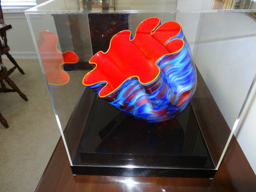 Dale Chihuly Original Sunrise Macchia Contemporary Glass Art