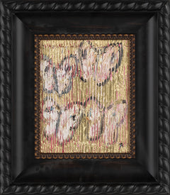 Original Untitled Butterfly Painting Contemporary Art