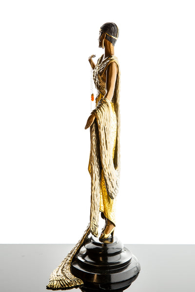 Je L'Aime Bronze Limited Edition Bronze Sculpture Art Deco Museum Condition