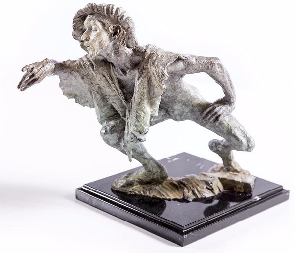 Richard MacDonald La Fuite du Temps Bronze Sculpture Signed Limited Ed. Sold Out