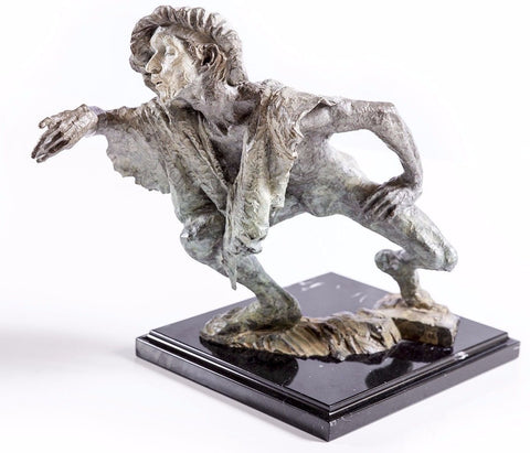 La Fuite du Temps Bronze Sculpture Signed Limited Ed. Sold Out