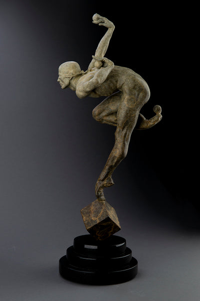 Richard MacDonald Original Limited Sculpture Blind Faith Signed Classic Art
