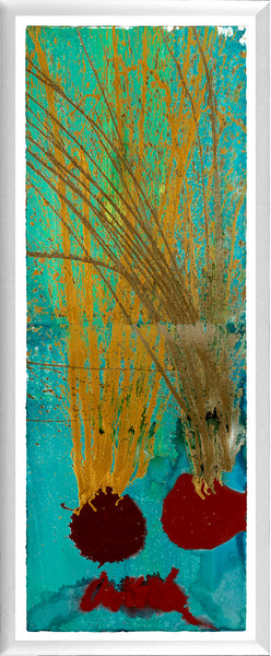 Original Diptych Acrylic Painting Signed Contemporary Art