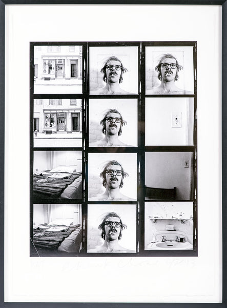 Untitled Self Portrait/Contact Sheet 2013