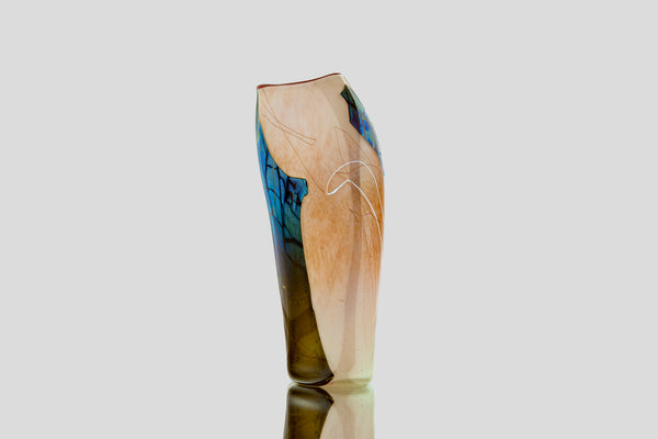 Glass Shard Vessel Handblown Contemporary Art