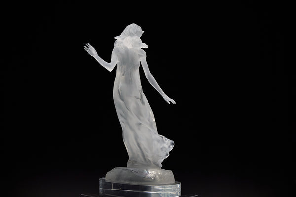 Songs of Grace: Hope Lucite Sculpture Original Contemporary Art