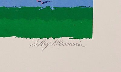 LeRoy Neiman In the Stretch Limited Edition Hand Signed All Offers Considered