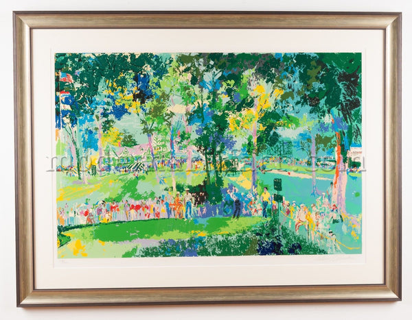 LeRoy Neiman Signed Limited US Open Oakmont Golf Art Painting Best Offer