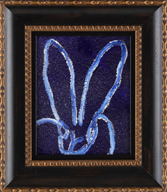 Hunt Slonem Untitled Diamond Dust Bunny Painting Contemporary Art