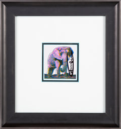 Andy Warhol African Elephant Endangered Species Announcement Signed Invitation