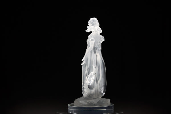 Songs of Grace: Innocence Lucite Sculpture Original Contemporary Art