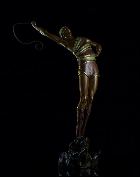 Erte Le Danseur Bronze Sculpture Art Deco