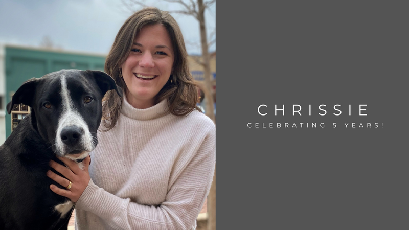 Celebrating 5 Years with Chrissie!