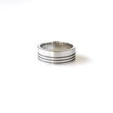 J Albrecht Designs custom mens wedding ring