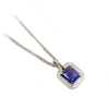 Emerald Cut Tanzanite Pendant