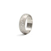 Rounded Platinum Galaxy Band