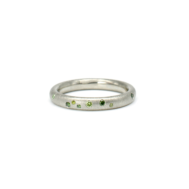Green Diamond Galaxy Band