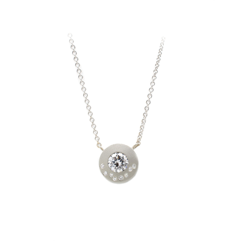 Diamond Submarine Pendant