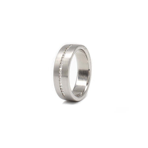 6mm Diamond Line Band