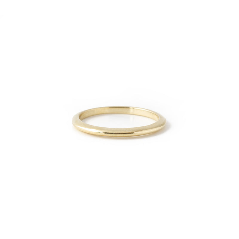 V Series Yellow Gold Band