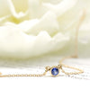 Sapphire Everyday Necklace in Yellow
