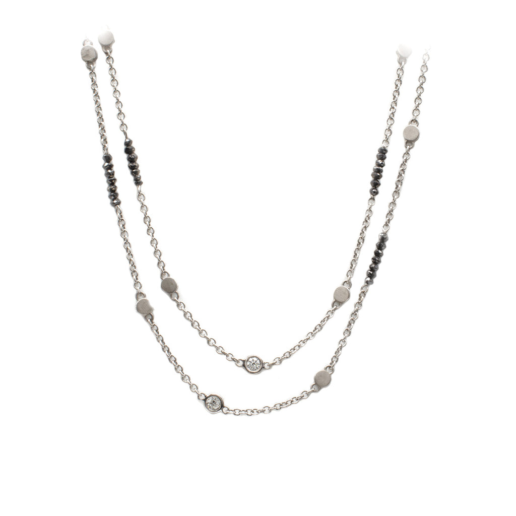 Black and White Diamond Chain